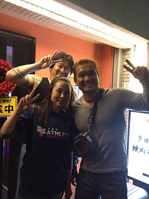 ZERO1の田中雅斗選手、金村キンタロー選手
